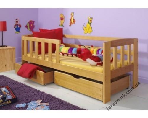 Кровать детская из массива дерева №6