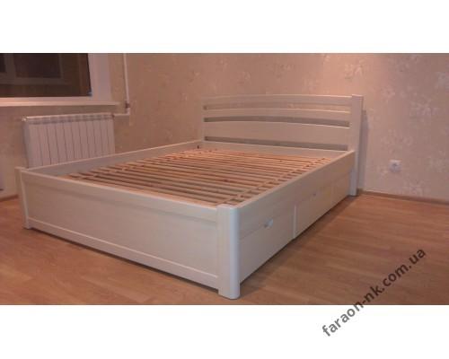 Кровать из массива ясеня №4