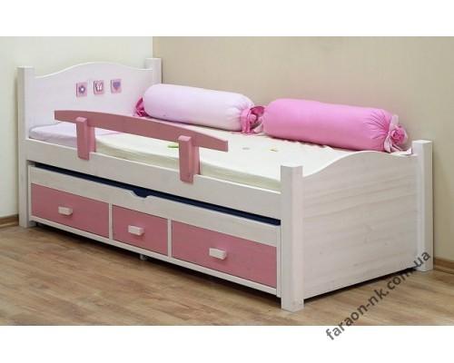 Кровать детская из массива дерева №11