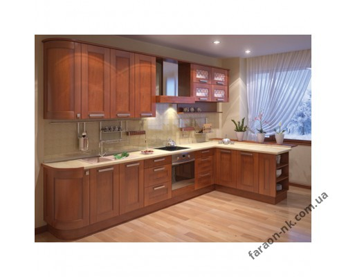 Кухня из массива дерева «Модерн»