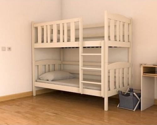 Двухъярусная кровать из ясеня -  «Принцесса»