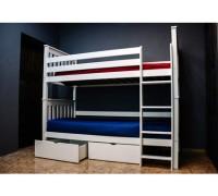 Двухъярусная кровать трансформер - «Альмира»