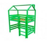 Кровать чердак из натурального дерева «Лето»