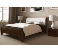 Деревянная кровать с изголовьем – «Куба»
