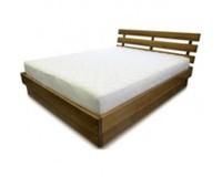 Кровать для спальни из дерева – «Морель»