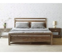 Кровать из дерева ясеня – «Люкс»