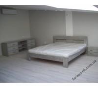 Кровать из дуба - «Света»