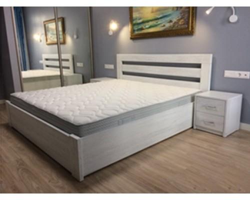 Кровать из массива дуба - Грация