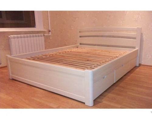 Кровать из массива клена – «Жемчужина»