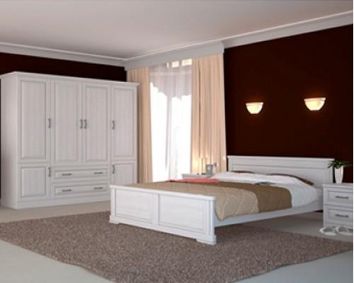 Кровать из массива ясеня – «Венеция»