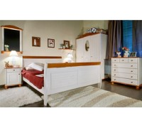 Кровать из ольхи Силена