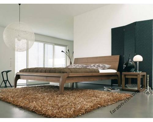 Кровать из массива дерева - Мадрал