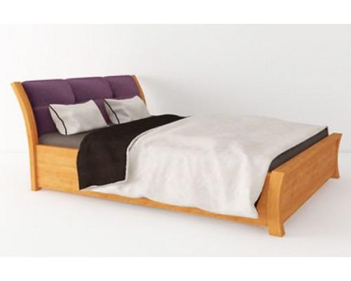 Кровать с подъемным механизмом и мягким изголовьем - «Равенна»