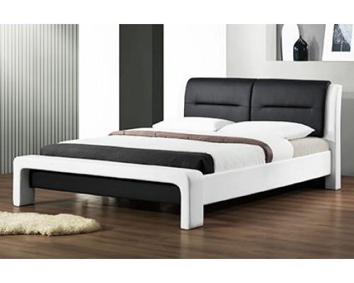 Мягкая кровать из дерева дуба – «Рондо»