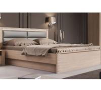Мягкая кровать из дерева - «Элит»