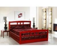 Мягкая кровать из дерева клена - «Вилора»