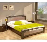 Мягкая кровать из массива дуба «Марсель»