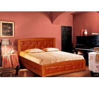Мягкая кровать из массива клена - «Мелори»