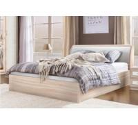 Мягкая кровать из ясеня – «Милана»