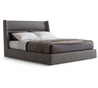 Мягкая кровать с изголовьем Оскар