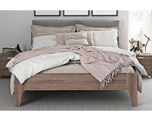 Мягкая кровать со спинкой – «Женева»