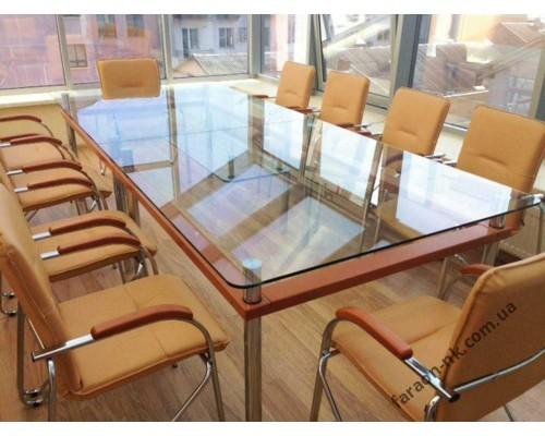 Стол стеклянный №5