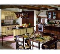 Кухня из массива дерева № 8