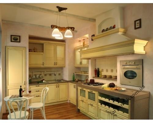 Кухня из массива дерева № 9