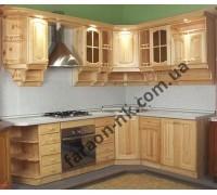 Кухня из массива дерева №11