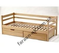 Кровать детская из массива дерева №7