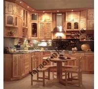Кухня из массива дерева № 3