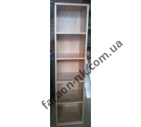 Книжный шкаф из массива ясеня №2