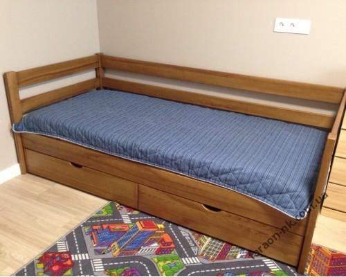 Кровать из массива ясеня №5