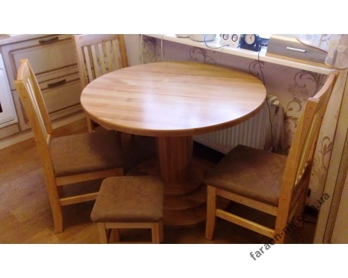 Кухонный набор из массива дерева №5
