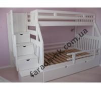 Детская двуъярусная кровать №22