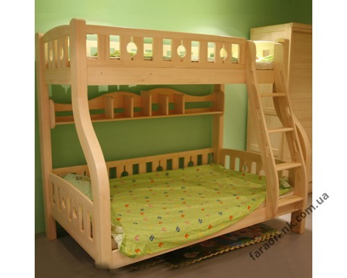 Кровать детская духъярусная К 11