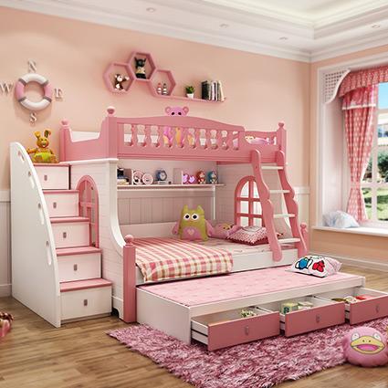 Деревянные двухъярусные кровати в стиле Конструктивизм