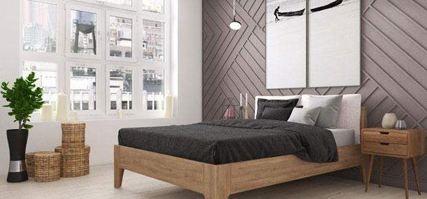 Комплектация деревянной кровати из ясеня