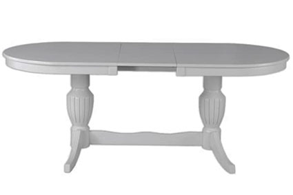 Овальный стол из натурального дерева