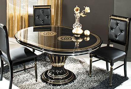 Стол комбинированный в стиле версаль