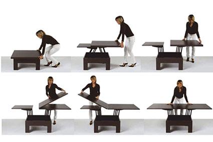 Стол в зал с механизмом трансформации