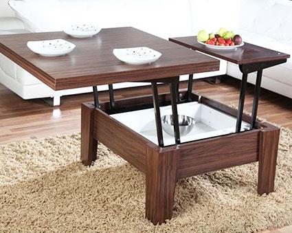 Стол обеденный с металлической основой
