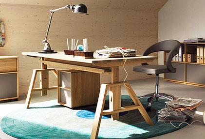 Стол для работы деревянный