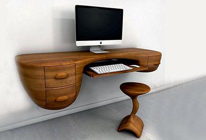 Стол для офиса деревянный для компьютера