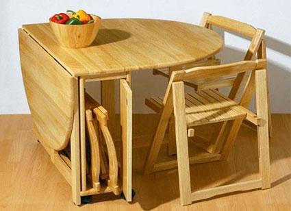 Стол с трансформацией обеденный
