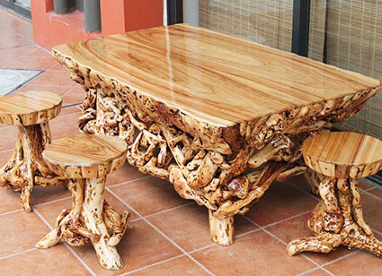 Стол антикварный деревяный