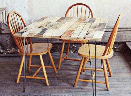 Преимущество деревянного стола